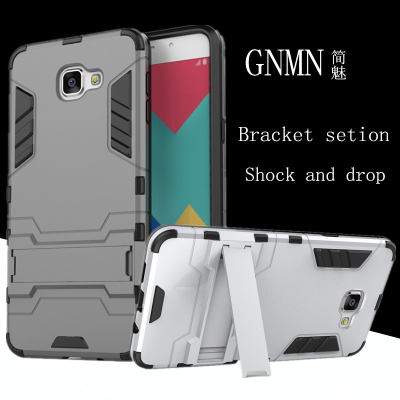 GNMN For <font><b>Samsung</b></font> a9 Pro mobile phone case protection bracket protection shell drop protection hard shell For <font><b>Samsung</b></font> <font><b>A9100</b></font> image