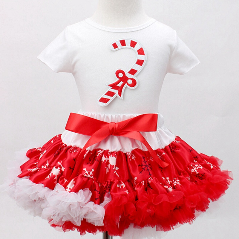 Santa Claus Christmas Costume for Kids Clothes Top Lace Tutu Skirts Children  Girls Clothing Sets Vetement Fille Christmas Gift 4ed1926583d9