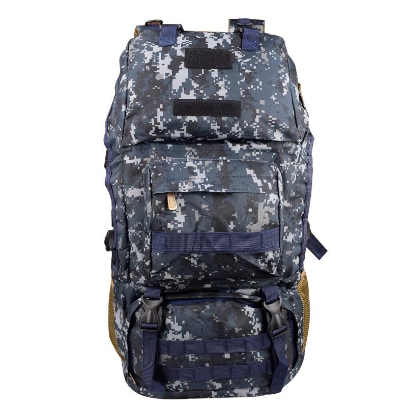 New Big Functional Mountaineering Men Large 80l Luggage Camouflage Backpack Travel Duffle Bag Waterproof Package bolsa Women Tas
