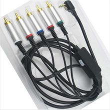 Бесплатная доставка, высококачественный AV TV видео компонентный кабель, свинцовый провод для PSP 2000 3000 PSP 2 PSP 3 9141