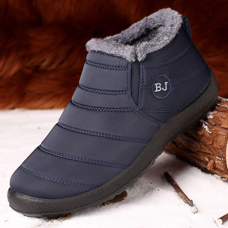 2018 Beliebte Baumwolle Schuhe Für Männer Und Schnee Stiefel Für Paare Durchblutung Aktivieren Und Sehnen Und Knochen StäRken