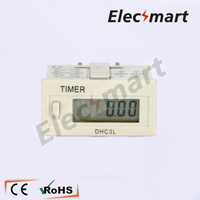 Industrial Timer Counter DHC3L With Locker AC220V Digital Memory
