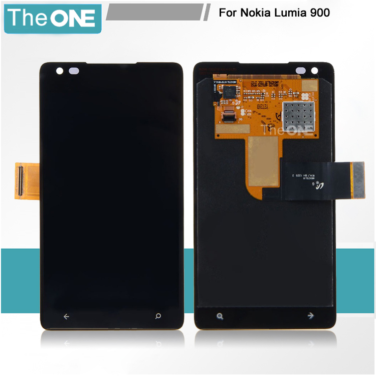 Free DHL Spare Parts For Nokia Lumia 900 LCD Display + Touch Panel Screen Glass Assembly Replacement Parts with tracking number  цены