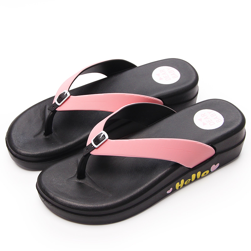 ISSACOCO 692 1 Summer Womenu0027s Flip Flops Slippers Lightweight Soft Non Slip  EVA Bathroom Shoes Fashion Flat Home Slippers Women In Flip Flops From  Shoes On ...