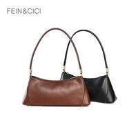 Baguette bag retro vintage small party clutch women 2019 INS girls new spring summer leather shoulder bag handbag brown black