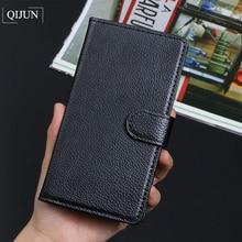 купить QIJUN Brand Luxury Retro PU Leather Flip Wallet Cover For Elephone P8000 P9000 Lite S2 S3 C1 M2 R9 Stand Card Slot Fundas по цене 185.62 рублей