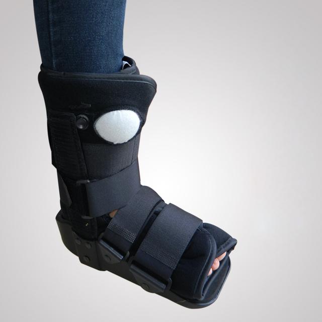 Zapatos de Ruptura Del Tendón de Aquiles Rehabilitación Postoperatoria de la Fractura de Tobillo fijo Proteger Brace Terapia Inflable Caminar Ayuda Botas
