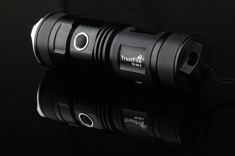 Trustfire A9-2 Upgraded Version of LED Flashlight CREE XML-2 High Brightness LED 900 Lumens Flashlight Outdoor lighting sitemap 2 xml