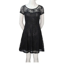 New Fashion Dreess Women Elegant Sweet Hallow Out Lace Dress Sexy Party Princess Slim Summer Dresses(China)