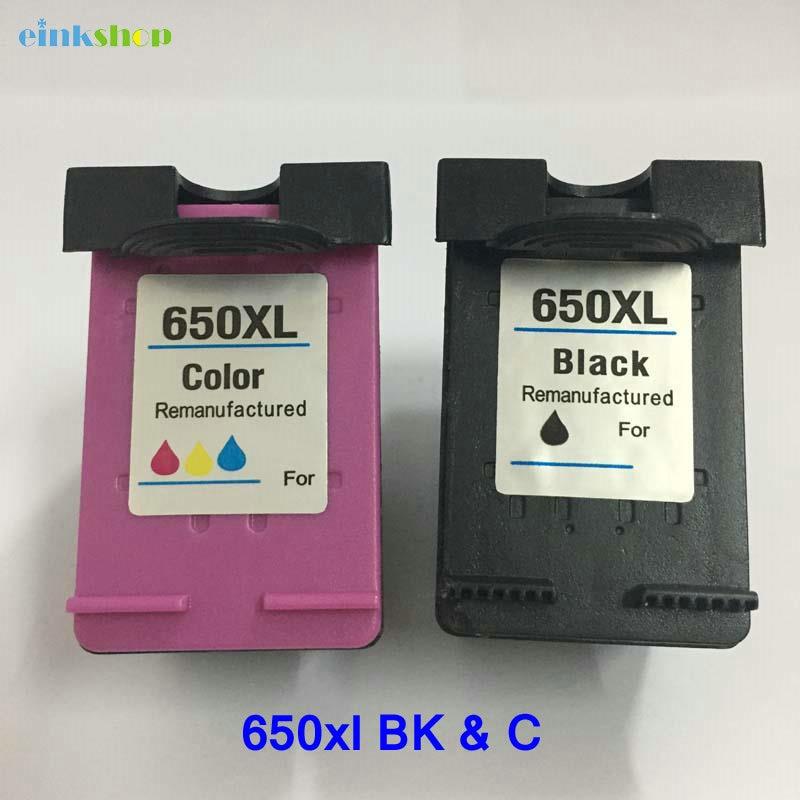Einkshop-kompatibler Tintenpatronenersatz Für HP 650 650xl Deskjet - Büroelektronik - Foto 1