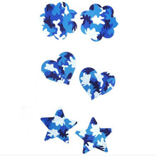 10pairs (20 Pcs) /lot women Nipple Covers blue Camouflag Heart and stars shape Breast Pasties soft Sexy experience