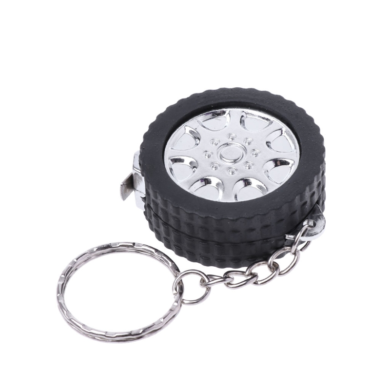 Mini Tape Measure Portable Keychain Plastic Retractable Soft Ruler Sewing Tool