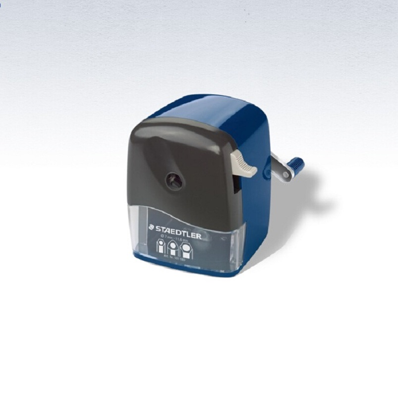 Rotary sharpener No.501 180; For all round, triangular and hexagonal blacklead and coloured pencils up to 12 mm