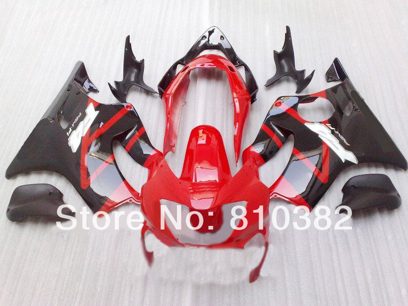 цены  Motorcycle Fairing kit for HONDA CBR600 F4 99 00 CBR600F4 1999 2000 F4 CBR600 Hot red gloss black ABS Fairings set HG30