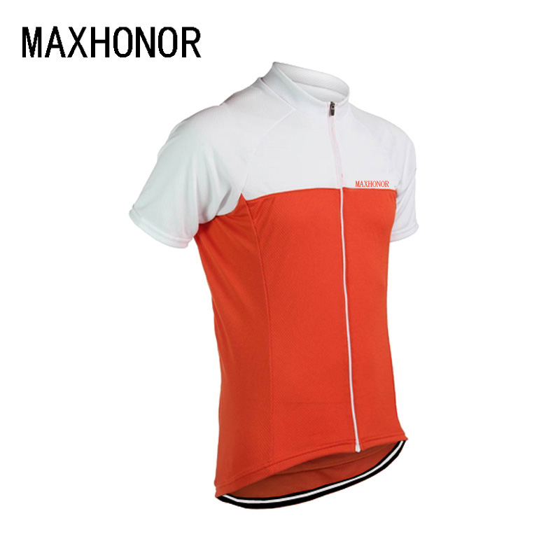 Cycling jersey men short sleeve red white black orange mtb jpg 800x800 Black  and orange cycling ced64a79c