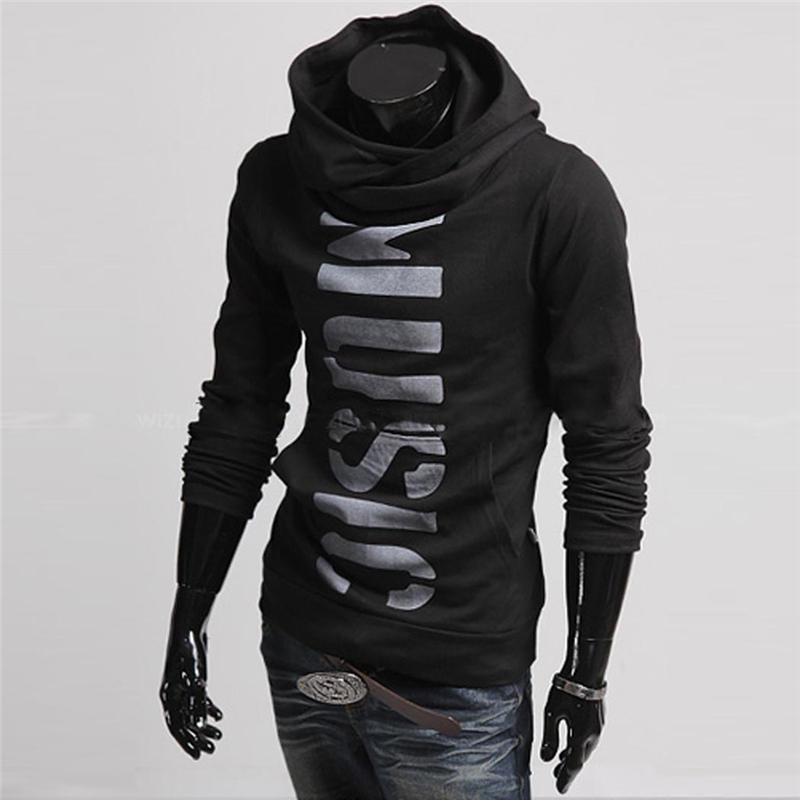 Hommes Hoodies Veste À Capuche Pulls Lettres Impression Shirts Poches À  Manches Longues Casual Vêtements Nouveau Style Pas Cher 0221 592a38f1861