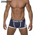 New Comfortable Breathable Men's Cotton Boxer Men's Pants Underwear Trunk Brand Shorts Man Sexy Boxer Five-Colors