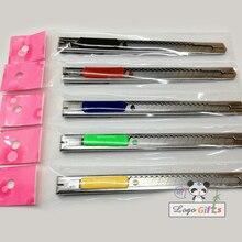 HOT Selling metal art utility knife Paper Cutting Knife and sharpener DIY wedding gifts diy photo set