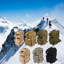 Hiking Camping Bag 30L Army Military Tactical Trekking Rucksack Durable Camo Backpack Camouflage Outdoor Sports