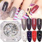 Nail Powder 1G Galaxy Holo Flakes Nail Sequins Bling Laser Powder Glitter Chrome DIY Powder Nail Glitter Powder Drop Shipping