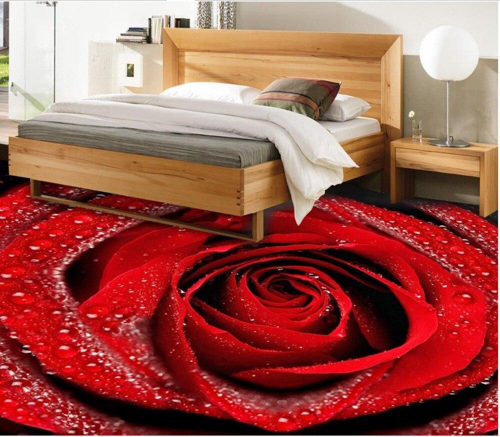 Achetez En Gros Fond D écran Antique En Ligne à Des: Achetez En Gros Rouge Rose Fleur Papier Peint En Ligne à
