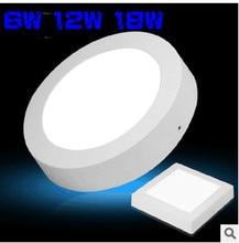 HOT!Led Panel Light Surface Mounted Led Downlight lighting 110-240V + Drivers DHL/FEDEX FREE