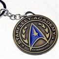 Moda Anel Da Liga Chave de Star Trek Star Trek Da Corrente Chave Chaveiro de Alta Qualidade