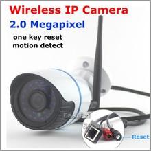 Открытый hd 1080 P ip-камеры wifi беспроводной водонепроницаемый 2-МЕГАПИКСЕЛЬНАЯ ИК ночного видение ONVIF P2P motion detect remote 2.0mp вид подключи и играй