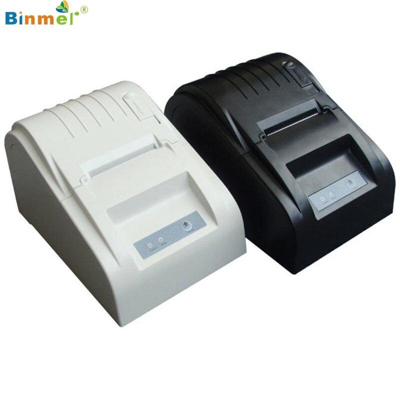 ФОТО ZJ-5890T 58mm Thermal Printer 58mm Thermal Receipt Printer 58mm USB POS Printer EU Plug low noise Receipt POS pirnter Dec21