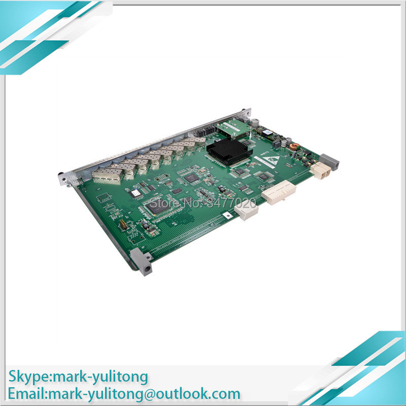 Fiber Optic Equipments Spirited Hua Wei Ethb 8 Port Ge With 6*1.25g-20km 2*1.25g-40km Uplink Board Used For Ma5680t Ma5683t Epon/gpon/10gpon Strong Packing