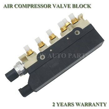 Air Suspension Valve Air Supply Solenoid Valve Block For Mercedes W220 S350 S430 S500 S600 S55 2203200258 2203200104