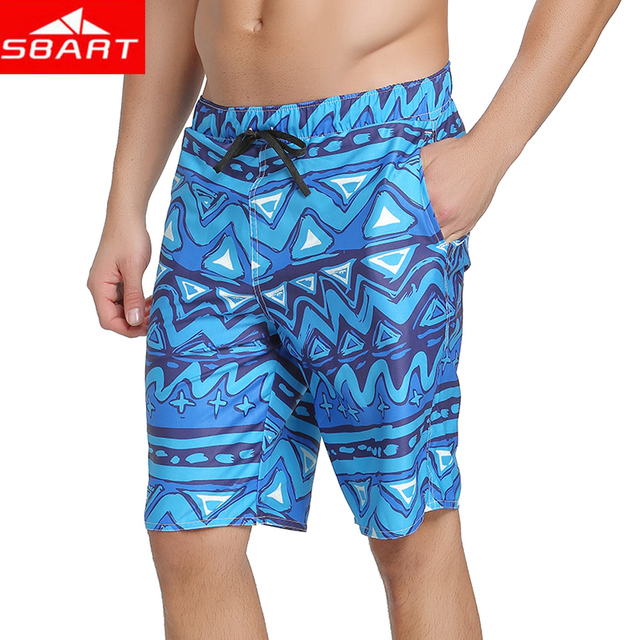 f047bc4636af5 2018 New Board Shorts Men Fast Dry Air Beach Shorts SwimWear Polyester  Summer Outwear Short Pants Men Plus Size L-3XL