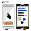 For Sony Xperia M4 Aqua E2303 E2306 E2353 E2333 E2363 E2312 Front Touch Screen Digitizer (No LCD) Glass Sensor Flex Cable Lens