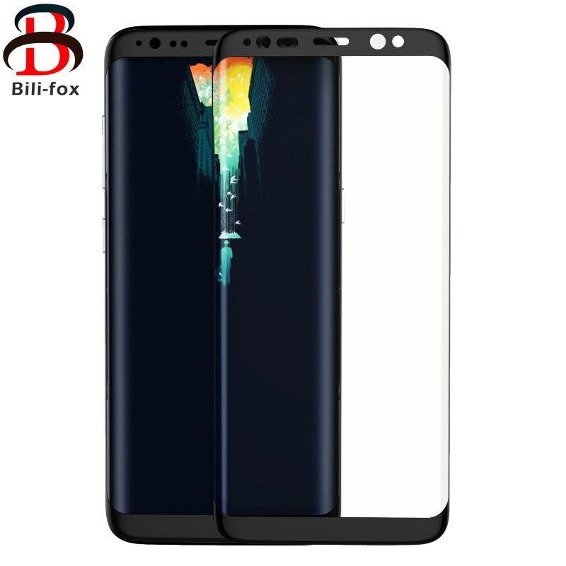 BF 3D Curvo Completo Protetor de Tela Premium de Vidro Temperado Para Samsung Galaxy S8 S8 Além de Película Protetora Para Samsung Galaxy vidro