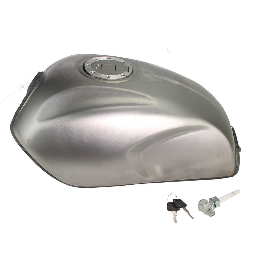 Thicken 2.9gal 11L Motorcycle Unpainted Retro Universal Cafe Racer Fuel Gas Tank For Honda CG125 CG125S CG250
