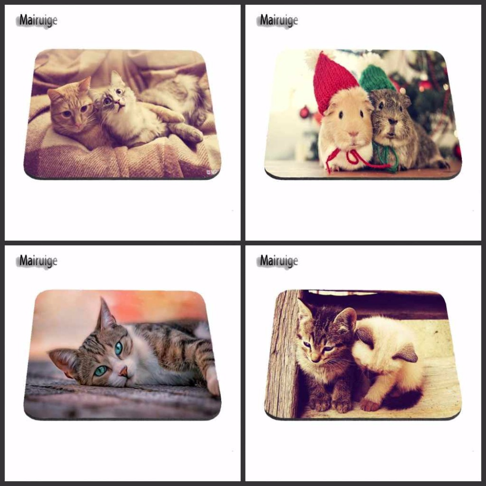 Mairuige Personalized lazy cat New Arrival aming Accessory Rubber Silon Anti-slip Mousepad PC Computer Gaming Mouse Pad Mat