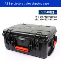 Tool case toolbox trolley Impact resistant sealed waterproof wheel case Photographic equipment box camera case with pre cut foam