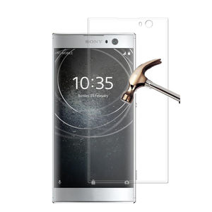 Image 2 - Tempered Glass 3D Curved Films Cover For Sony Xperia XA2 Full Screen Protector XA2 Ultra Glass H3113 H4213 Protective Film