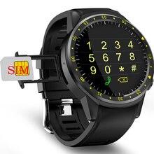 Relógio inteligente do telefone dos esportes dos homens do whatch com medida da pressão f1 android relógio inteligente gps com câmera do cartão sim