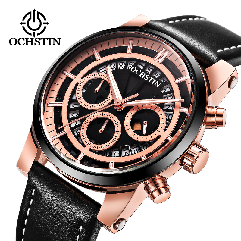 Luxury Brand OCHSTIN Men Sports creative Watches Men's Army Military Watch Man Quartz Clock Relogio Masculino Montre Homme