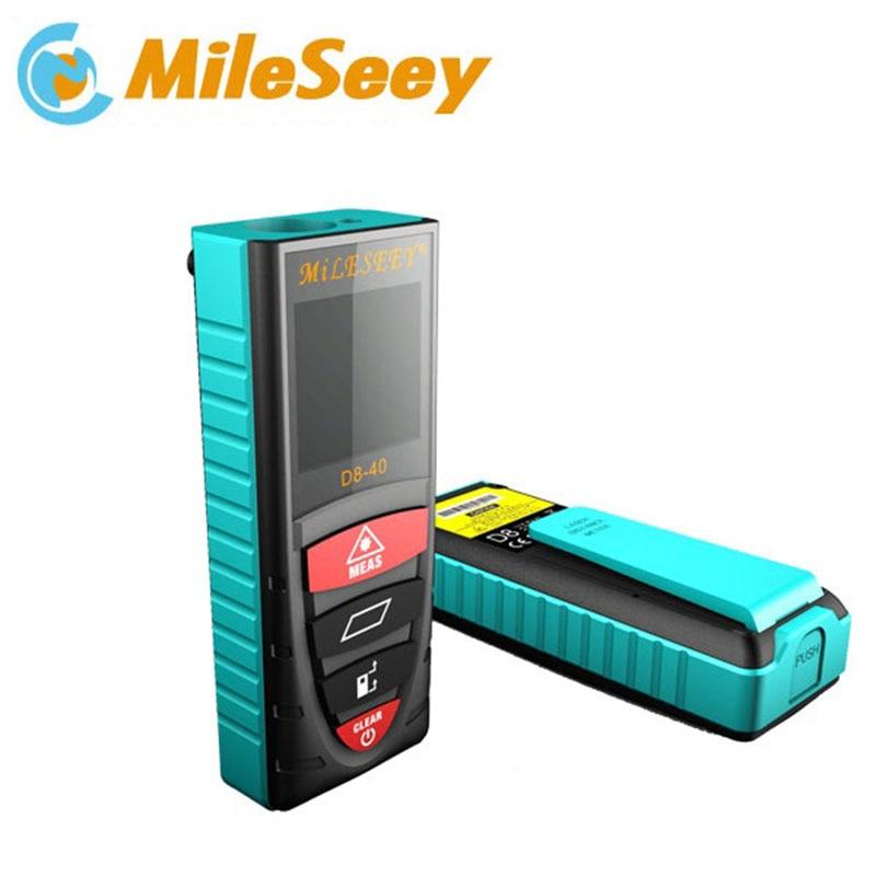 Mileseey  laser distance meter D8 40m laser rangefinder laser measure telemetro  laser distance meter diastimeter Blue  цены