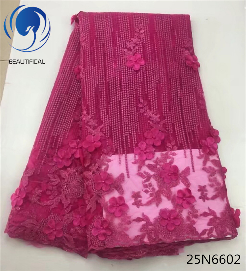 Buy beautifical 3d lace fabric for for Wedding dress fabric stores
