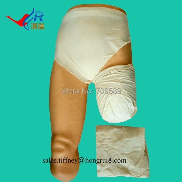 Advanced Low-set Bandaging Model, Wound Dressing Model, Nursing model exit wound