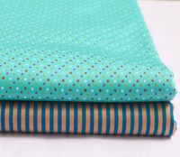 ZY DIY 50*160cm Brand New Design Colorful Dot & Stripe 100% cotton twill cotton Fabric for KIDS fabric quilting home decor