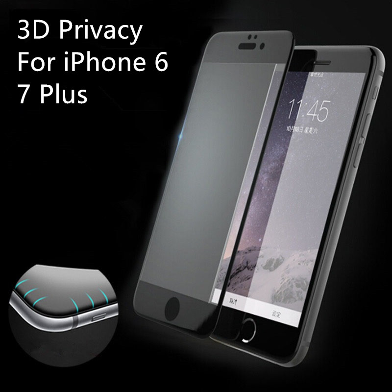3D Anti Privacy Tempered Glass Screen Protector for iPhone