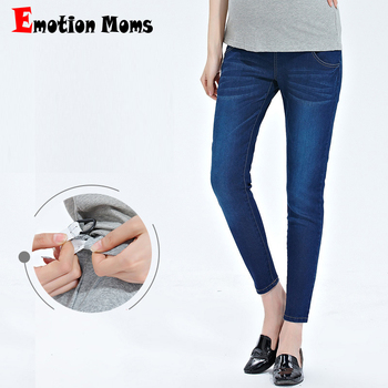 Emotion Moms Maternity Jeans For Pregnant Women Pregnancy Pants Clothes Trousers