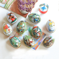 New 1pc Easter Eggs  Fairytale Rabbits Demountable Play Eggs for Easter Decoration Gifts Candy Favor Mini Tin Boxes Decor