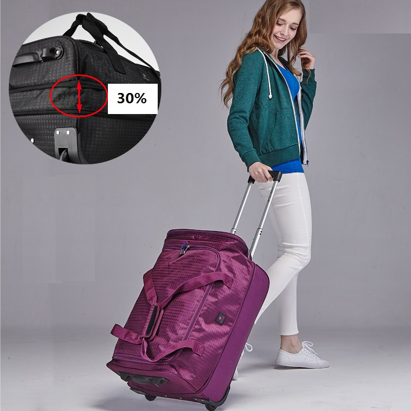 Fashion-18-20-22-inch-Extensible-Backpack-Travel-Bag-Casters-Trolley-Carry-On-Wheels-Women-Waterproof (1)