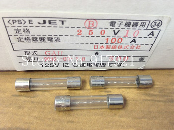 [ZOB] Japan imported JET GAU insurance 6X30 10A250V micro tube explosion-proof glass fuse original authentic  --200pcs/lot