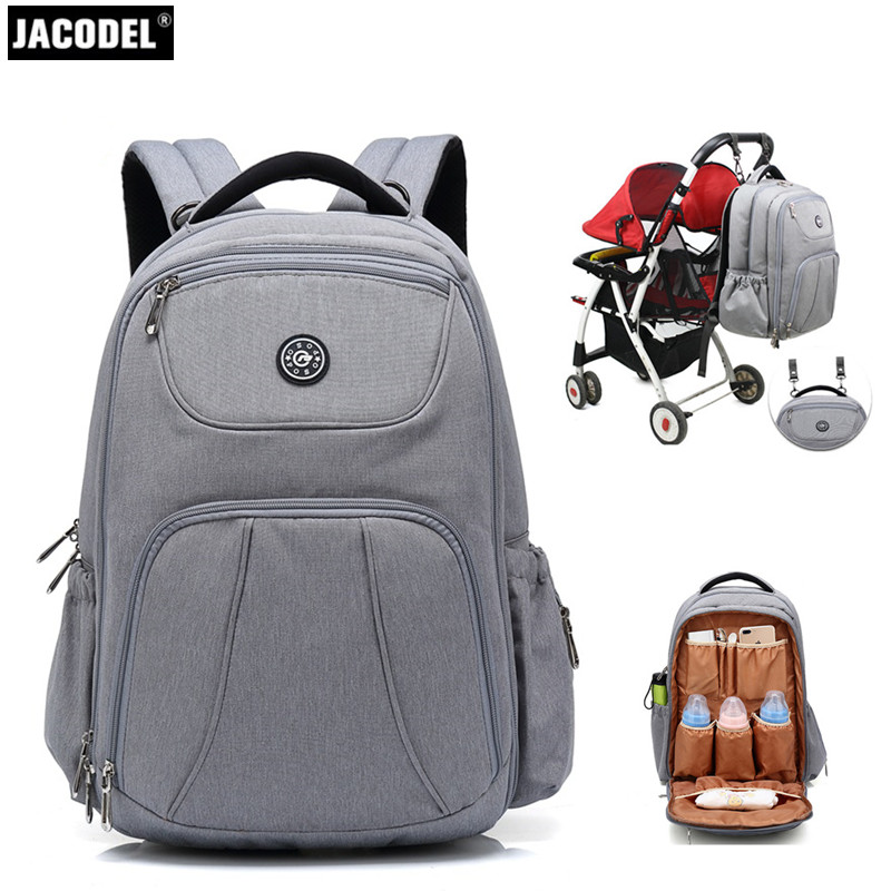 Jacodel 17 inch Mummy Backpack Bag Large Computer Bag for Laptop Bag New Mother and Child Package Pregnant Women Travel Package